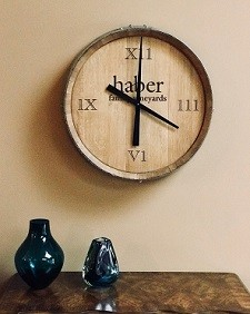 Personalized Barrel Clock